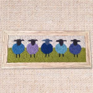 sheepBluePicture